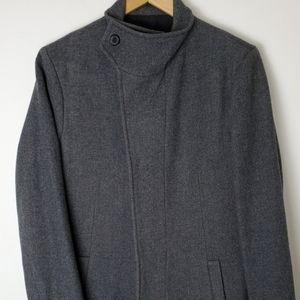 Men's All Saints Wool Coat